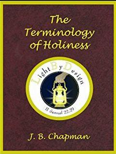 Chapman Terminology of Holiness