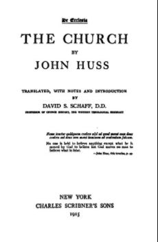 Huss The Church