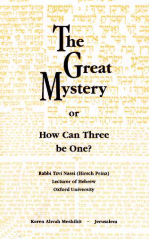 Nazzi Plurality in the Godhead Trinity
